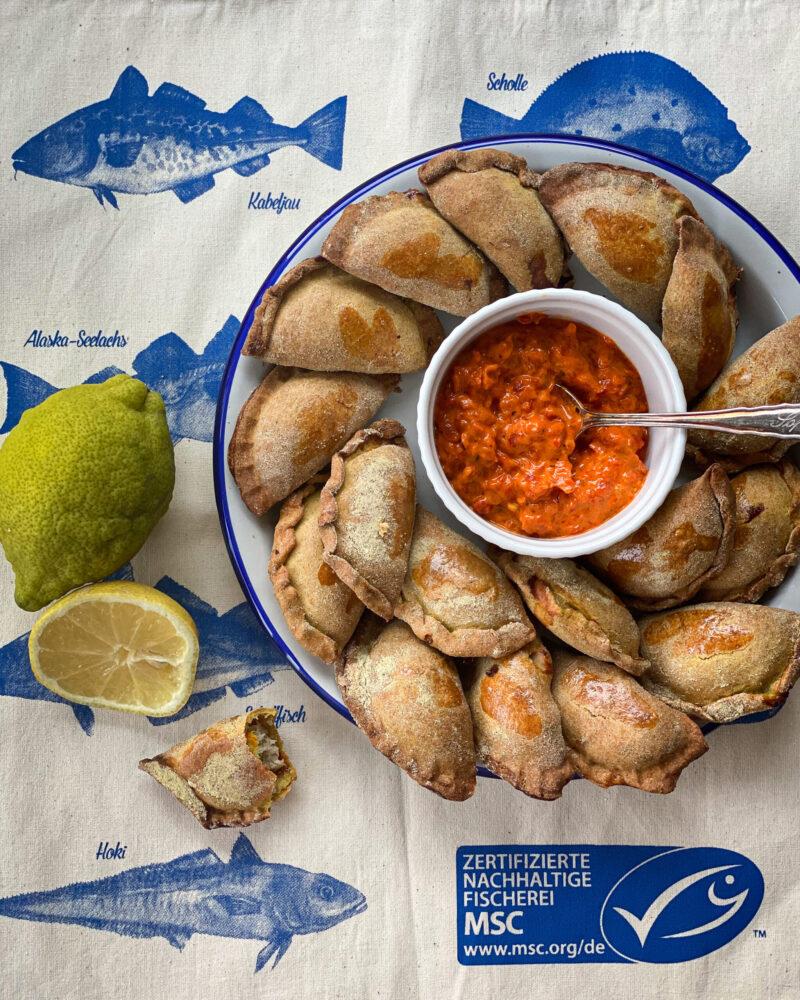 Empanadas mit Thunfischfüllung – Farbbechers Cuisine
